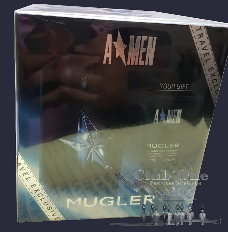 set angel mugler perfume